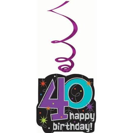 40th Birthday Danglers