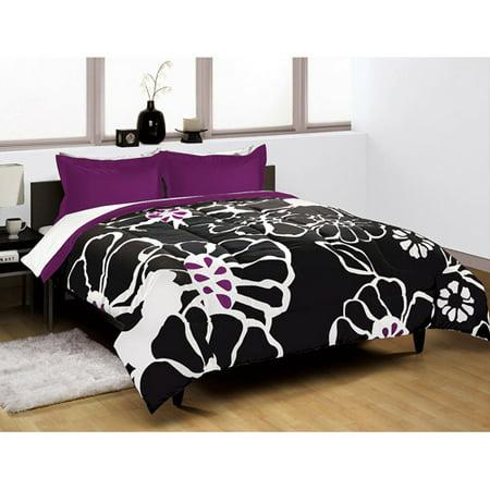 Modern Bloom Comforter Set Walmart Com