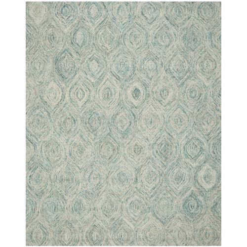 Safavieh Ikat Ivory & Blue Area Rug