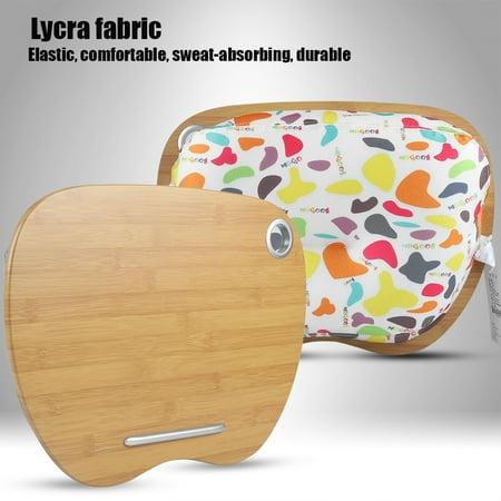 Yosoo Lap Desk Pillow Laptop Lap Desk Portable Pillow Cushion Tray Bed Notebook Home Office Lap Desk For Laptop
