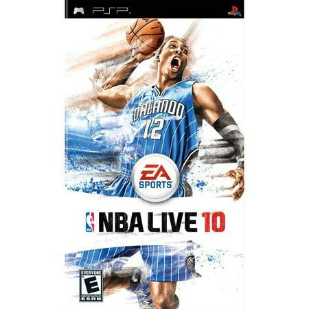 Nba Live 10   Sony Psp