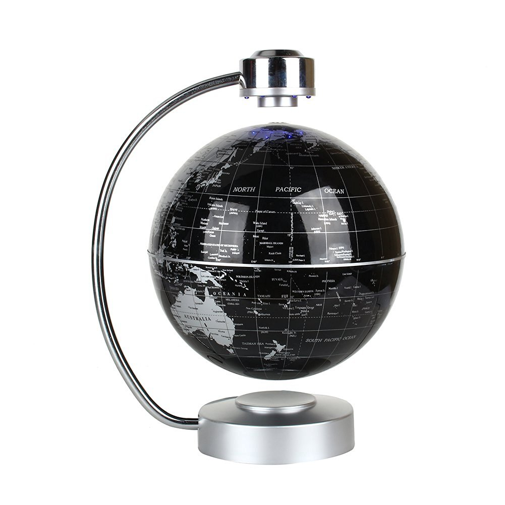Floating globe office desk display magnetic levitating and rotating floating globe office desk display magnetic levitating and rotating planet earth globe ball with world map 8 ball with levitation stand black gumiabroncs Images