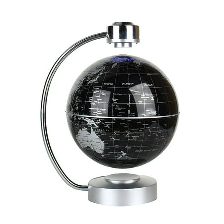 floating globe office desk display magnetic levitating and rotating planet earth globe ball with world