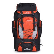 80L/90L Waterproof Nylon Travel-Backpack Hiking Backpack Camping Trekking Outdoor Sports Rucksacks 27.56 x 15.75 x 7.87 inches