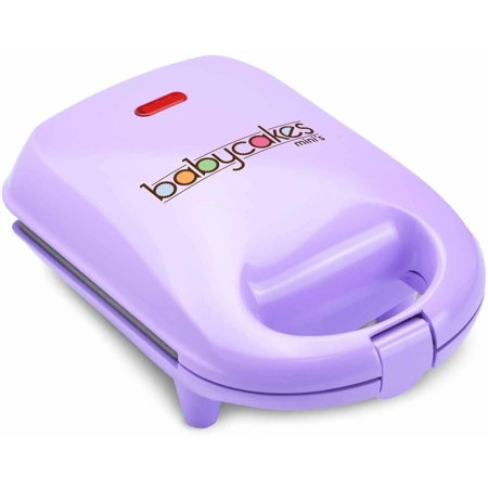 Babycakes Non-Stick & Non-Skid Purple Cake Pop Maker - Holiday Cake Pops