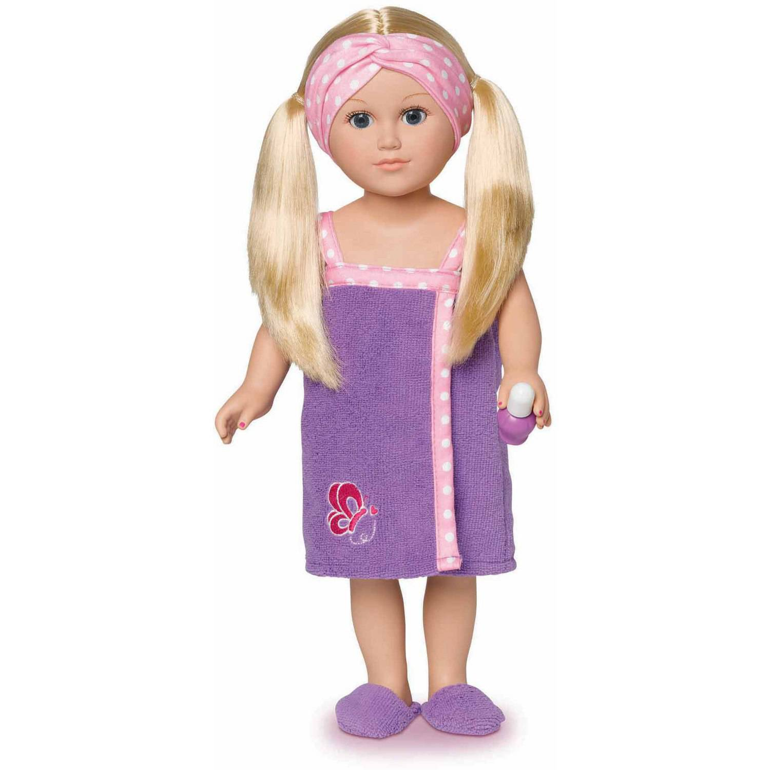 """My Life As 18"""" Spa Vacationer Doll, Blonde Hair with a Soft Torso"""