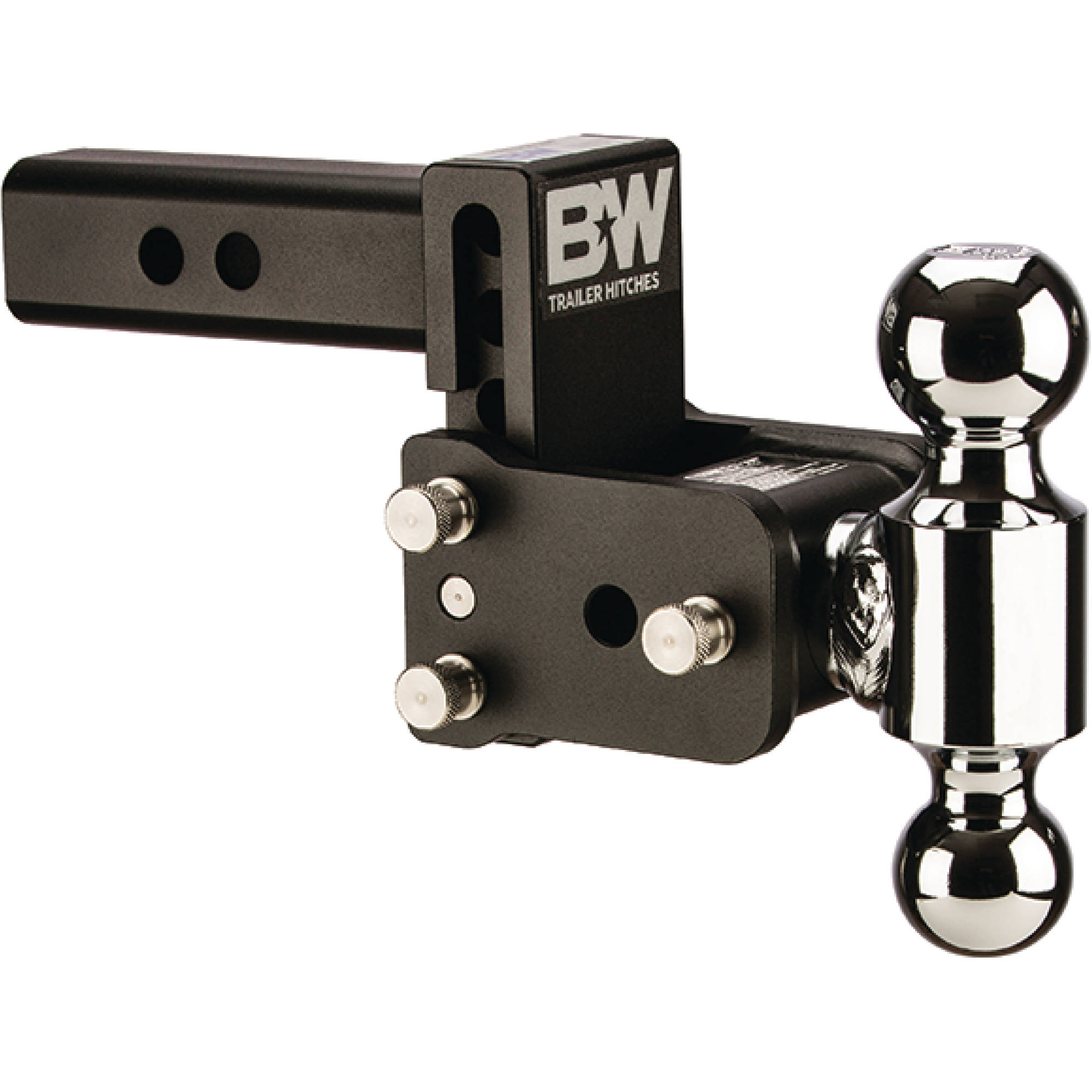 "B&W Trailer Hitches Tow & Stow Receiver Hitch, Fits Standard 2"" Receiver"