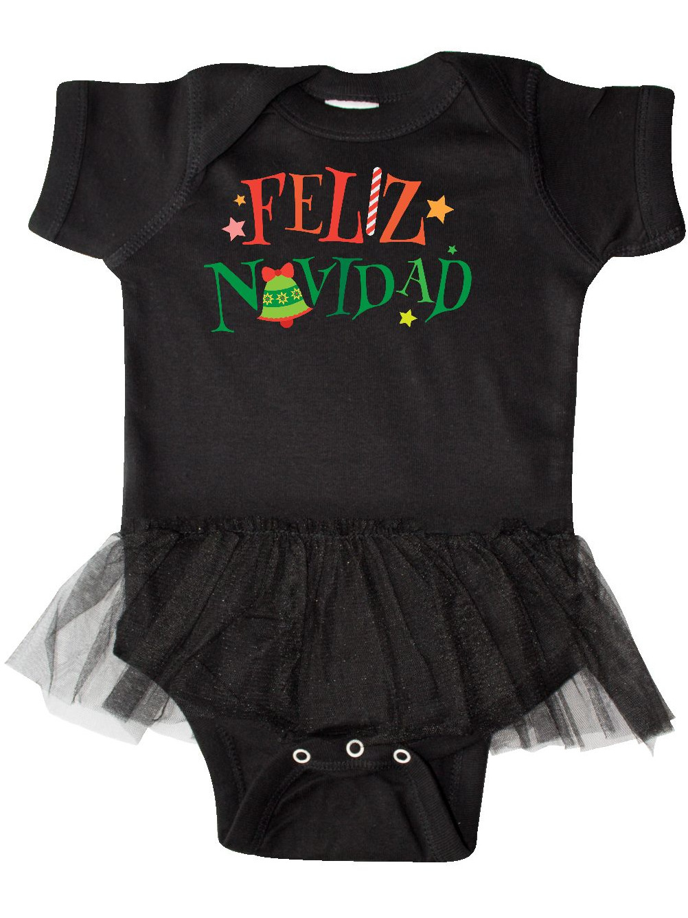 inktastic Cute Step Dads Little Ghost with Stars Infant Tutu Bodysuit