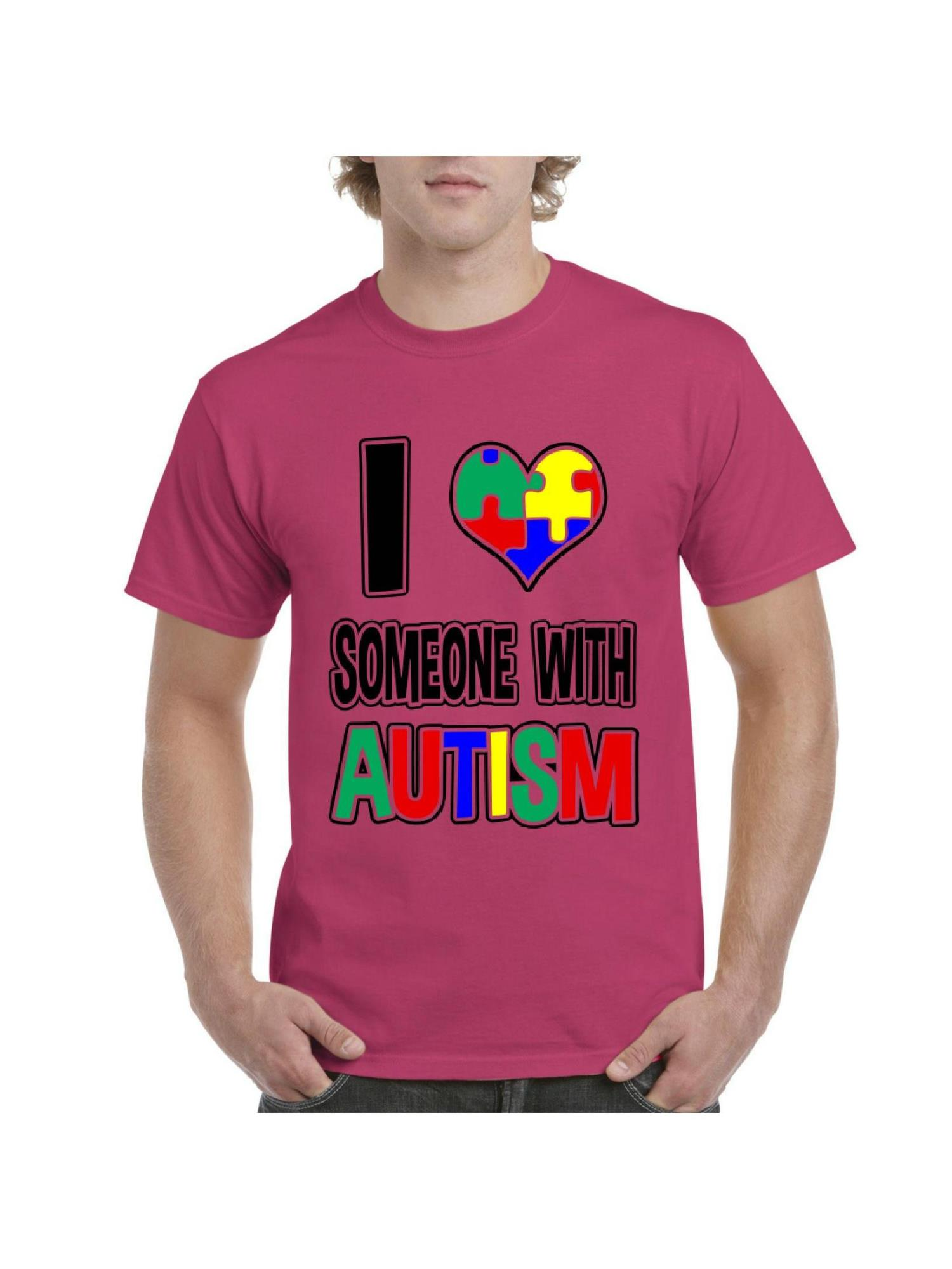 I Love Someone Special With Autism N//a Standard Unisex T-shirt