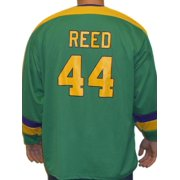 Fulton Reed #44 Mighty Ducks Movie Hockey Jersey Bash Brothers Slap Shot Costume