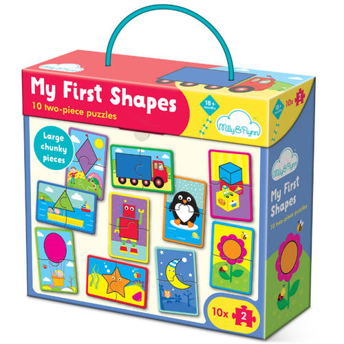 Milly & Flynn My First Shapes Puzzle
