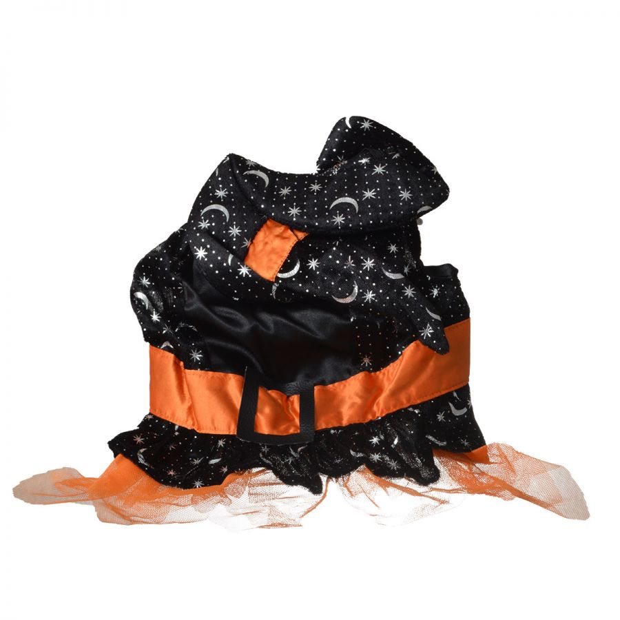 Lookin' Good Witch Dog Costume Medium - (Fits 14-19 Neck to Tail) - Pack of 2