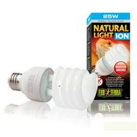 ExoTerra Natural Light Ion Compact Fluorescent Lamp for Aquarium, 25-watt