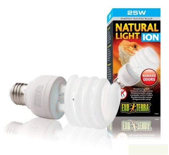 ExoTerra Natural Light Ion Compact Fluorescent Lamp for Aquarium, 25-watt