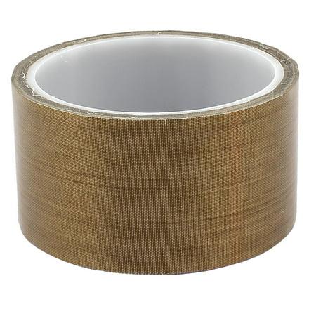 Woven Fiberglass Tape (Unique Bargains 5cm 50mm x 10m 33Ft Kapton Tape High Temperature Resistant)