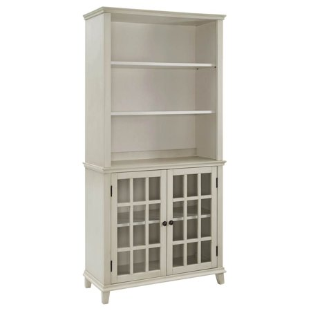 Linon Largo Display Cabinet, Multiple Colors (Turquoise China Cabinet)