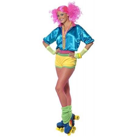 Skater Girl Adult Costume - Medium - Roller Girl Costume Halloween