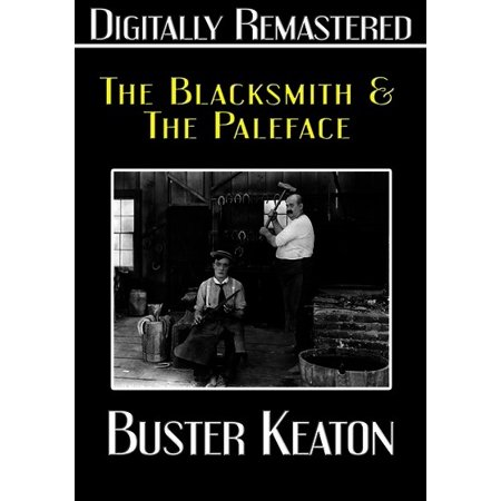 Buster Keaton: The Blacksmith / The Paleface (DVD) - Pale Face Halloween