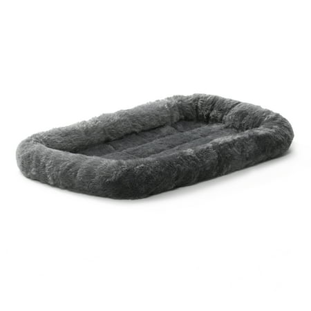 MidWest QuietTime Pet Bed & Dog Crate Mat, Gray, 22""