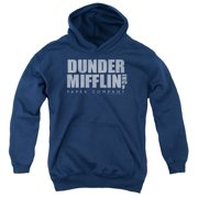 Dunder Mifflin Distressed Big Boys Pullover Hoodie