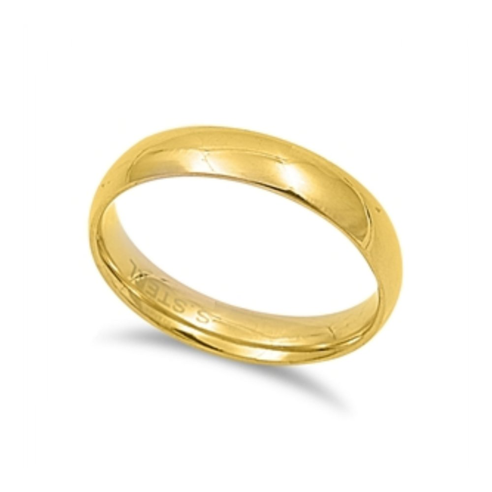 Stainless Steel Comfort Fit Wedding band Ring