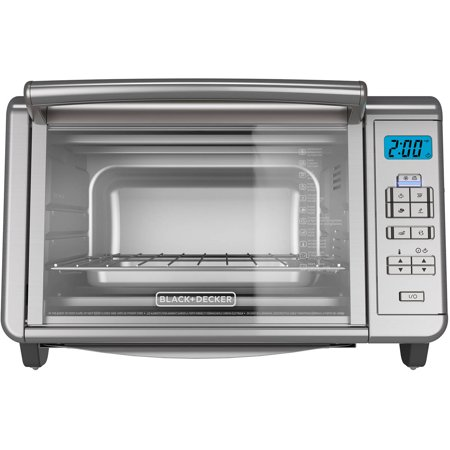 BLACK+DECKER Digital Countertop Toaster Oven, TO3280SSD