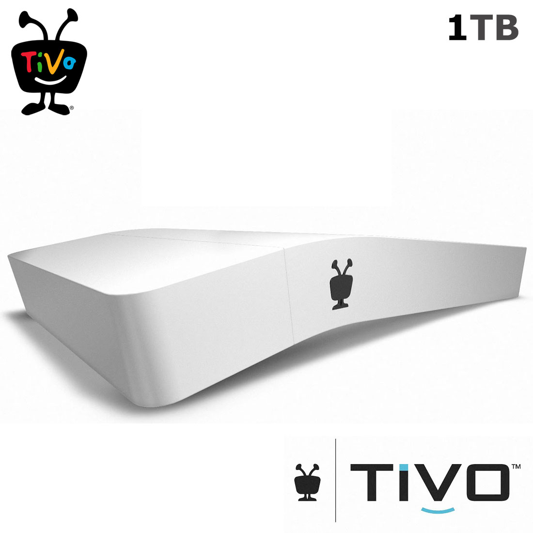 Tivo BOLT 1000 GB DVR (Old Version) - Digital Video Recorder and Streaming Media Player - 4K UHD Compatible - Works with Cable or HD Antenna