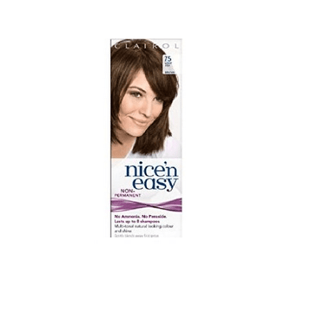Clairol Nice N' Easy Hair Color #755, Light Brown (Pack of 1) Uk Loving Care + Cat Line Makeup Tutorial](Easy Halloween Makeup Tutorial For Boys)