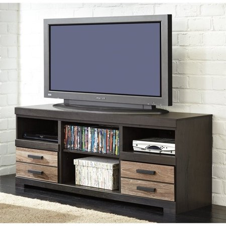 "Ashley Harlinton 63"" TV Stand in Warm Gray"