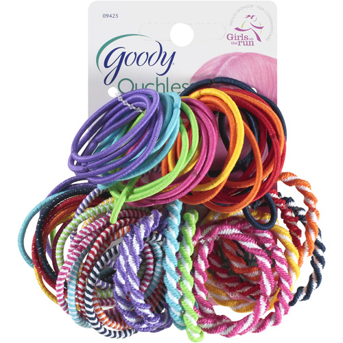 Goody Ouchless Ponytailers, 60 count