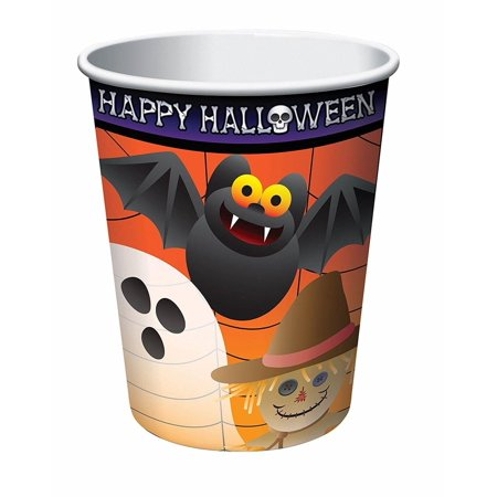 Happy Halloween 9 (8 Count Happy Halloween Cups 9 oz Party)