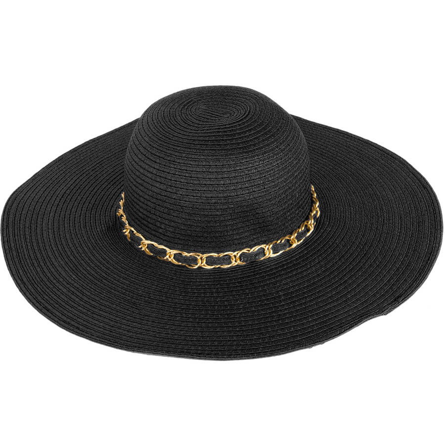 AERUSI Mrs Wickman Straw Floppy Hat