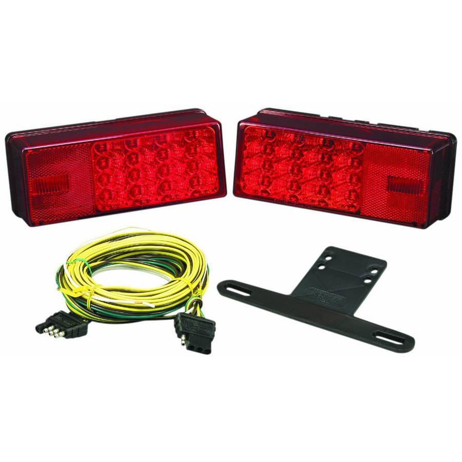 Wesbar Waterproof LED Low Profile Tail Light Kit