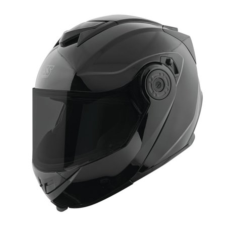 Speed & Strength SS1710 Solid Modular Motorcycle Helmet Gloss Black