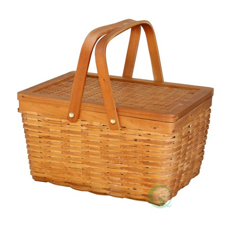 Woodchip Basket - Small - Picnic Baskets Wholesale