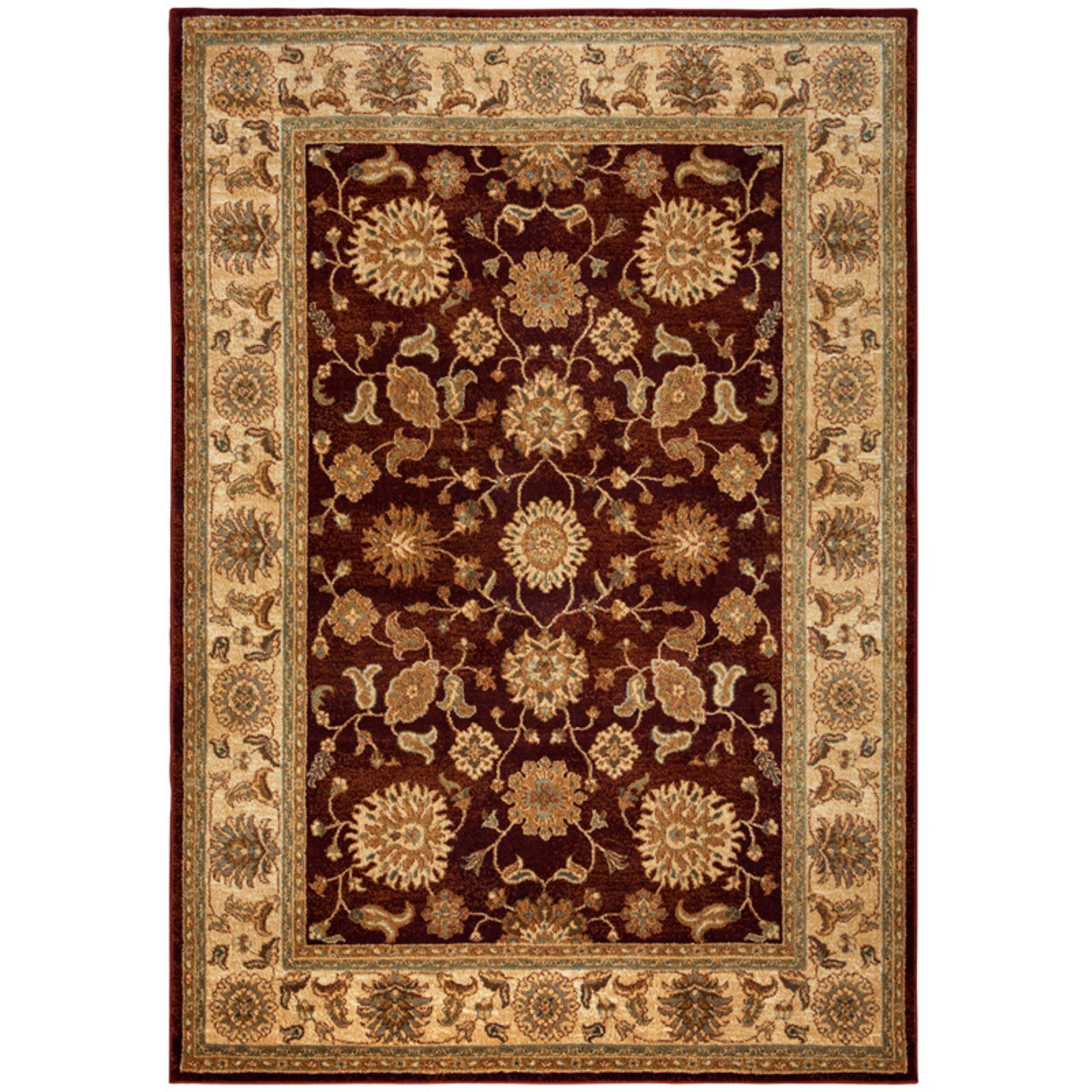 Rizzy Home Bellevue Double Pointed Area Rug 9 Ft. 2 In. X 12 Ft. 6 In. Burgundy Model BLVBV371300709216