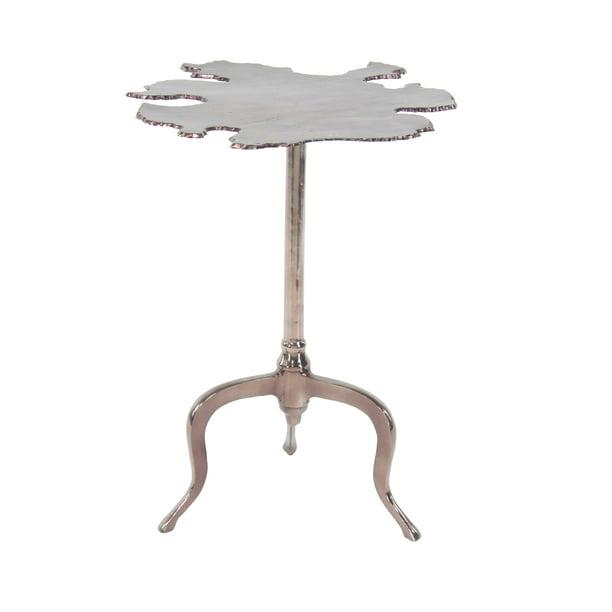 Decmode - Modern 27 x 27 inch irregular-shaped copper aluminum