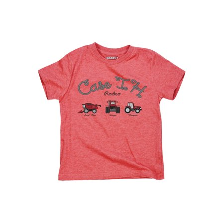 Case IH Rodeo Tractor Lasso Magnum Axial Country Rural Fields Todder T-Shirt