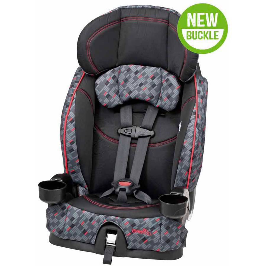 Evenflo Chase Select Harnessed Booster Car Seat, Dunagan