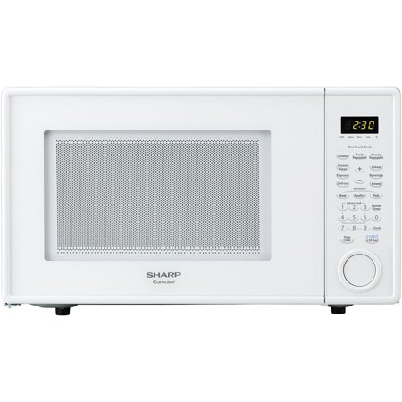 Sharp r309yw carousel countertop microwave oven 11 cu ft 1000w sharp r309yw carousel countertop microwave oven 11 cu ft 1000w white sciox Images