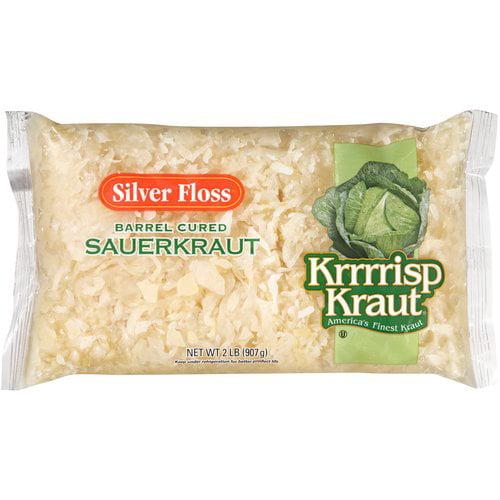 Silver Floss Krrrrisp Kraut Sauerkraut, 32 oz