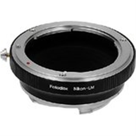 Adapter Lens Adapters - Fotodiox Lens Mount Adapter, Nikon Lens to Leica M Adapter, for Leica M-Monochrome, M8.2, M9, M9-P, M10 & Ricoh GXR mount A12