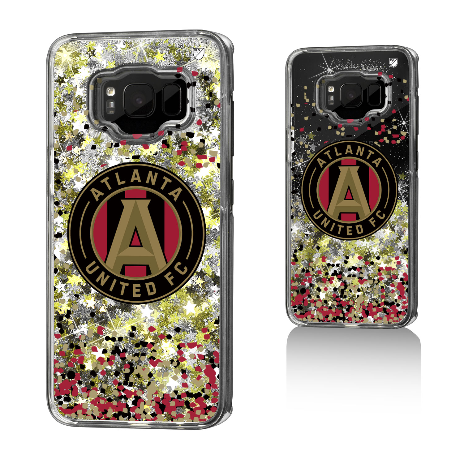 Atlanta United FC ATLUTD Confetti Glitter Case for Galaxy S8