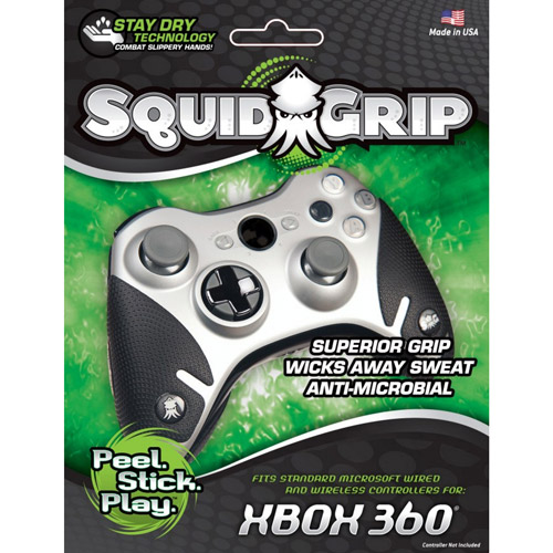 SquidGrip for Xbox 360 Controller (controller not included), Black