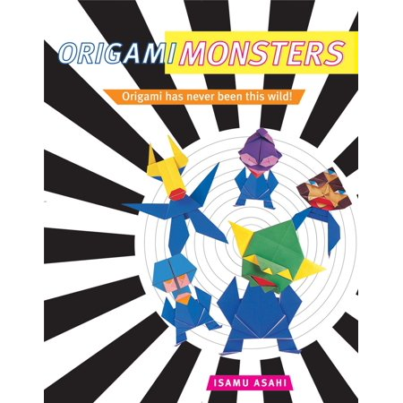 Origami Monsters : Create Colorful Monsters with This Ghoulishly Fun Book of Japanese Paper Folding: Includes Origami Book with 23 Projects](Japanese Umbrella Monster)