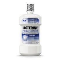 Mouthwash: Listerine Healthy White