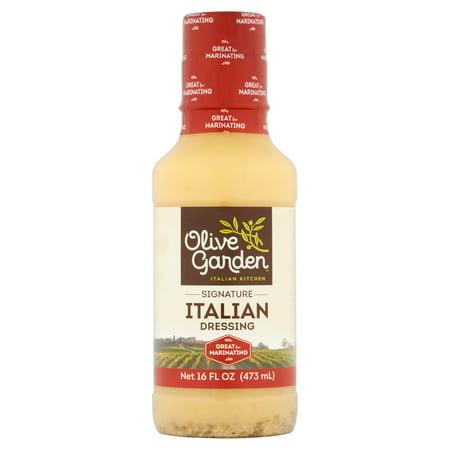 Olive Garden Italian Kitchen Signature Italian Dressing 16 Fl Oz