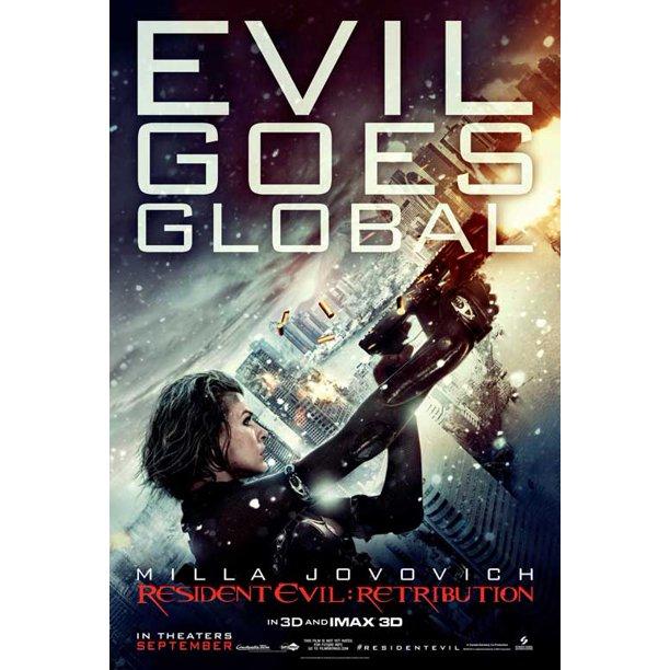 Resident Evil Retribution 2012 11x17 Movie Poster Walmart Com