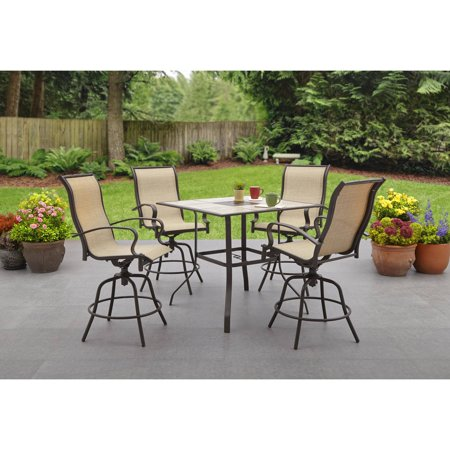 Wesley Creek 5 Piece Counter Height Dining SetWesley Creek 5 Piece Counter Height Dining Set   Walmart com. High Dining Outdoor Tables. Home Design Ideas