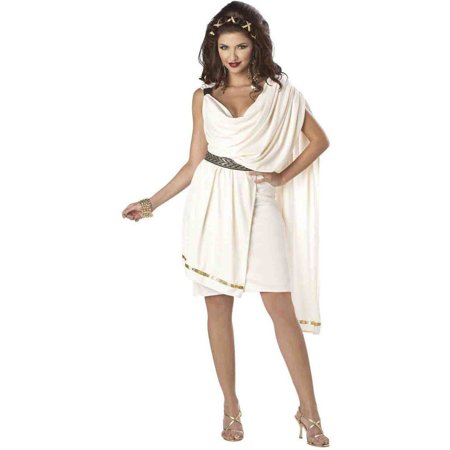 Deluxe Classic Toga Women's Adult Halloween - Party City Toga